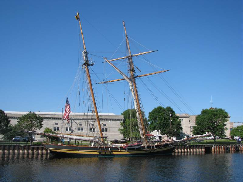 Pride of Baltimore II at Alpena